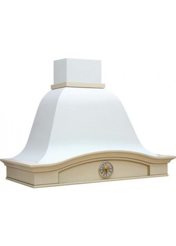 Vialona Cappe вытяжка Лилия 900 (ППУ) с часами бук/белый муар мощ. 900