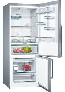 Холодильник Bosch KGN76AI22R серебристый