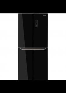 Холодильник Weissgauff WCD 486 NFB Черный