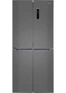 Холодильник Weissgauff WCD 486 NFX серебристый