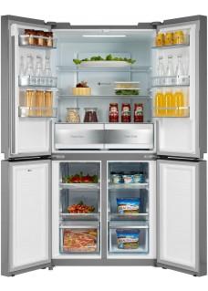Холодильник Midea MRC518SFNX серебристый
