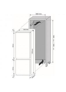 Встраиваемый двухкамерный холодильник Candy CKBBS 100