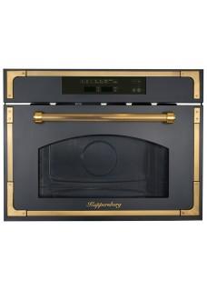 Встраиваемая микроволновая печь Kuppersberg RMW 969 ANT Черный с бронзой