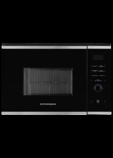 Встраиваемая микроволновая печь Kuppersberg HMW 650 BX Черный стеклянный фасад