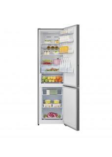 Двухкамерный холодильник Lex RFS 204 NF WH Белое Стекло