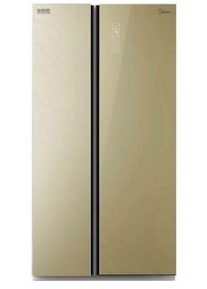 Холодильник Midea MRS518SNGBE Бежевый