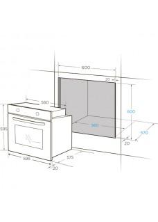 Духовой шкаф электрический Midea MO23000GW