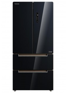 Холодильник многодверный Toshiba GR-RF532WE-PGJ22 Черное Стекло