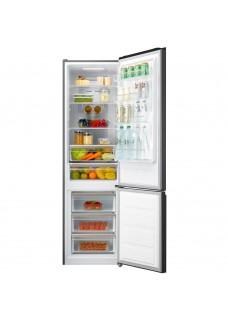 Холодильник Korting KNFC 62017 GN Черный