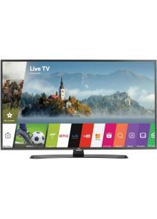 Телевизор LED LG 43UH671V черный