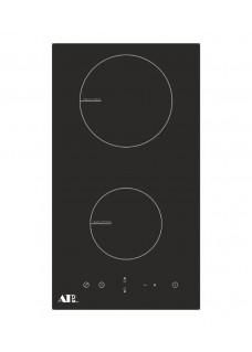 Индукционная варочная поверхность ATLAN 4KIC32C BK Домино Черная