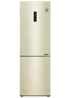 Двухкамерный холодильник LG GA-B459CESL Бежевый