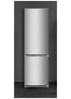 Двухкамерный холодильник Lex RFS 202 DF IX Нержавейка
