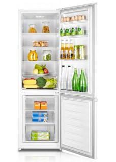 Двухкамерный холодильник LEX RFS 202 DF WH Белый