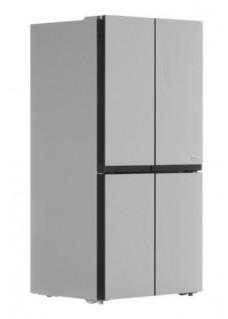 Холодильник Midea MRC518SFNGX Стекло Серебристый