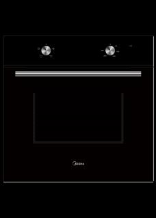 Встраиваемый духовой шкаф Midea MO13000GB Черный