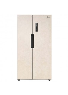 Холодильник Side-by-Side Midea MRS518SFNBE2 Бежевый