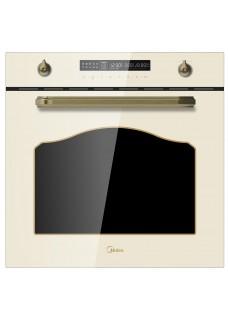 Встраиваемый электрический духовой шкаф Midea MO78100RGI-B Бежевый