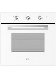 Встраиваемый электрический духовой шкаф Midea MO23001GW Белое стекло