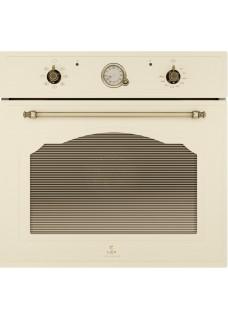 Встраиваемый электрический духовой шкаф Lex EDM 072 C IV Ретро Бежевый