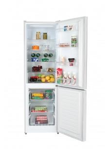 Холодильник двухкамерный HIBERG RFC-375DX NFGW Белое стекло