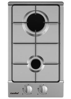 Варочная поверхность газовая домино Comfee CGH300X Нержавейка
