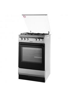 Плита для кухни комбинированная Hansa FCMX590977 Нержавейка 55 см