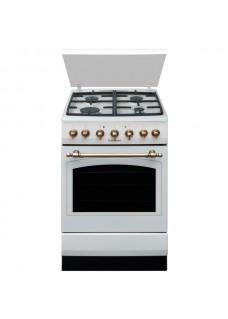 Комбинированная плита для кухни Hansa FCMY 58109 Бежевая Ретро