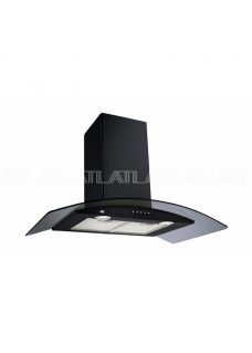 Вытяжка для кухни ATLAN 3388 A2 TG turbo 60 см black