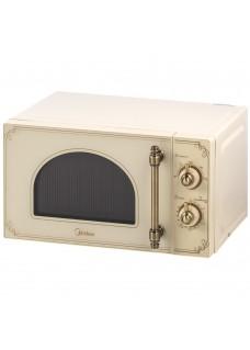 Микроволновая печь Midea MM820CJ8-I2 Ретро Бежевый