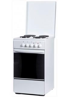 Плита для кухни электрическая Flama AE 1401 W Белая