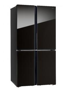 Холодильник многодверный Side by Side HIBERG RFQ-500DX NFGB INVERTER Тёмный Металлик