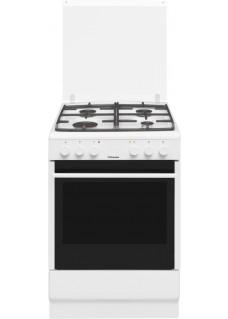 Плита для кухни комбинированная Hansa FCMW58028 Белая