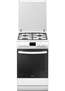 Плита для кухни комбинированная Hansa FCMW58240 Белая