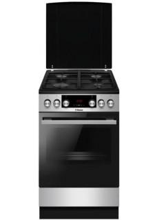 Плита для кухни комбинированная Hansa FCMX59323 Черная