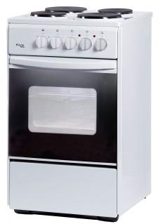 Плита для кухни электрическая Лада Nova AE 14027 W Белая