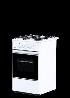 Плита для кухни газовая Flama RG 24040 W Белая Эмаль