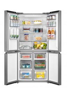 Холодильник многодверный Midea MDRF632FGF46 Серебристый Инвертор