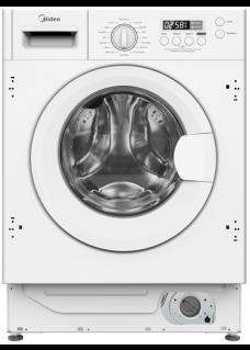 Встраиваемая стиральная машина MIDEA MFGLW80B/W Белая 8 кг