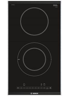 Встраиваемая электрическая варочная панель домино Bosch PKF375FP1E Черная