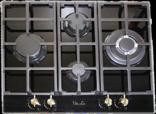 Варочная поверхность Vita Lux Чёрная цена